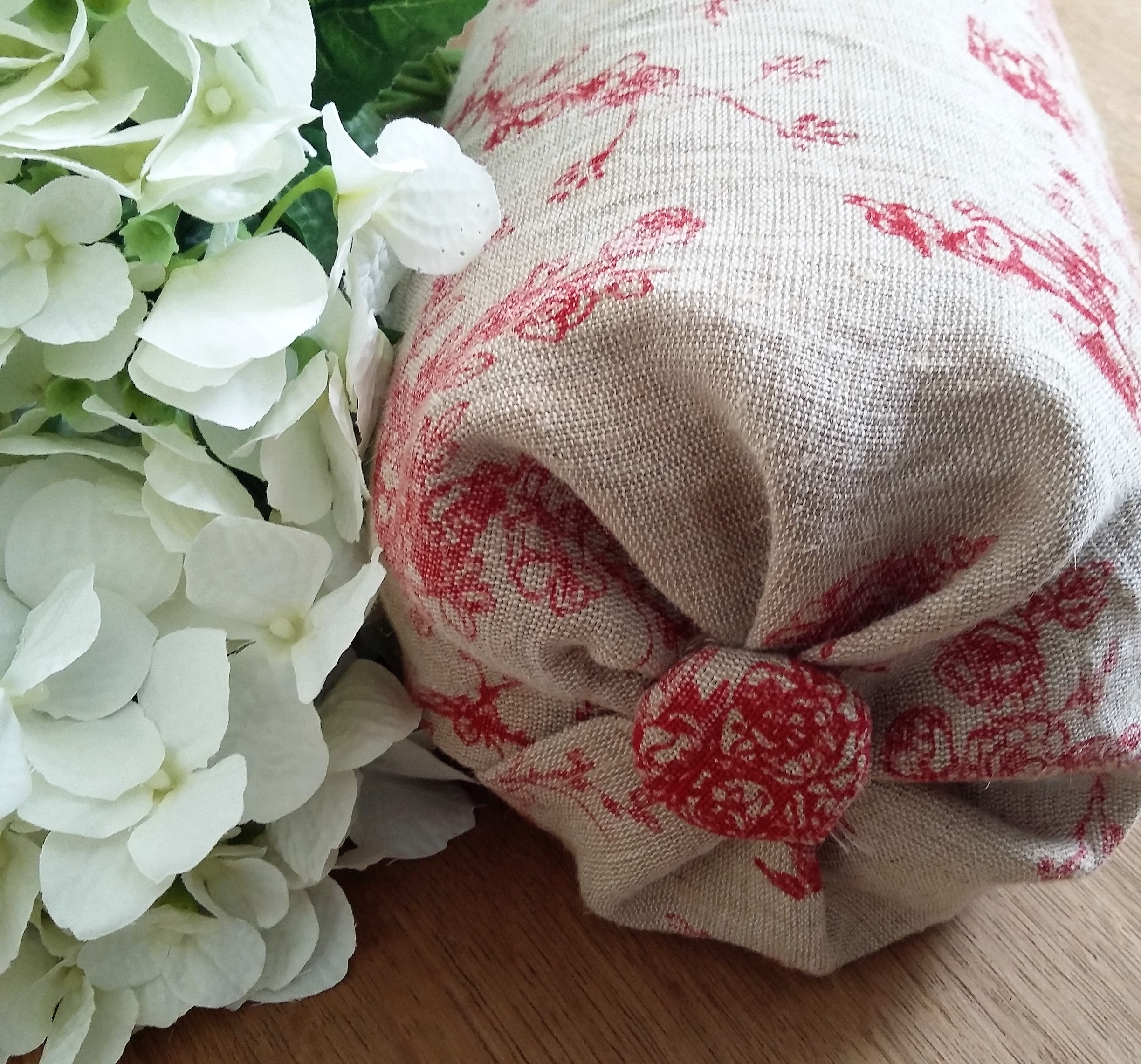 French Toile Bolster Cushion Bees Knees Furniture