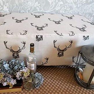 stag footstool