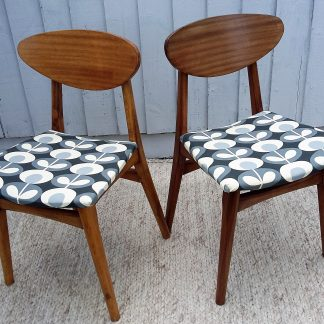 Mid-Centrury Chairs Retro Chairs Vintage Chairs Orla Kiely
