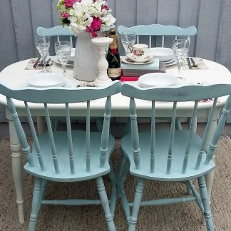 Shabby Chic Table Shabby Chic Chairs Shabby Chic Dining Set Vintage Table Vintage Chairs Vintage Dining Table and Chairs Vintage Table & Chairs Annie Sloan
