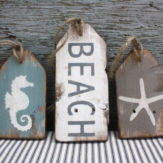 Rustic Beach Tags